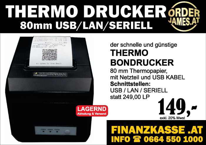 THERMODRUCKER IMPORTPREIS